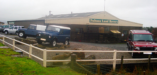 Fultons Land Rovers Workington, Cumbria