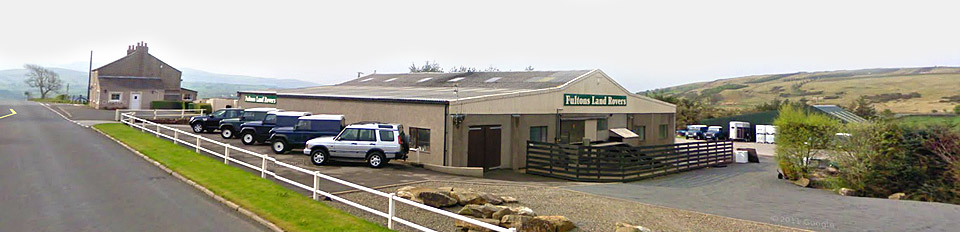Fultons Landrovers Workington Cumbria
